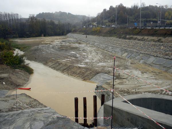 Vasca di laminazione controllata sul Rio di Canale