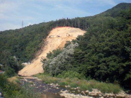 Strada provinciale di Murialdo: riapertura per completamento delle opere di consolidamento della frana