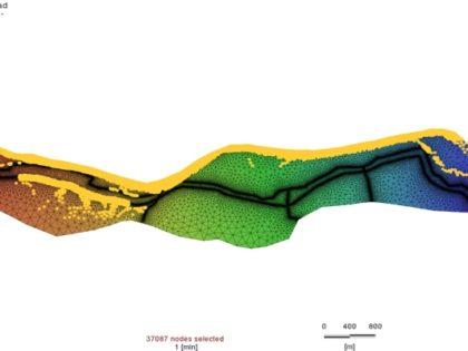 Casse di laminazione per la gestione delle piene del F.Po: sviluppo di un modello di simulazione