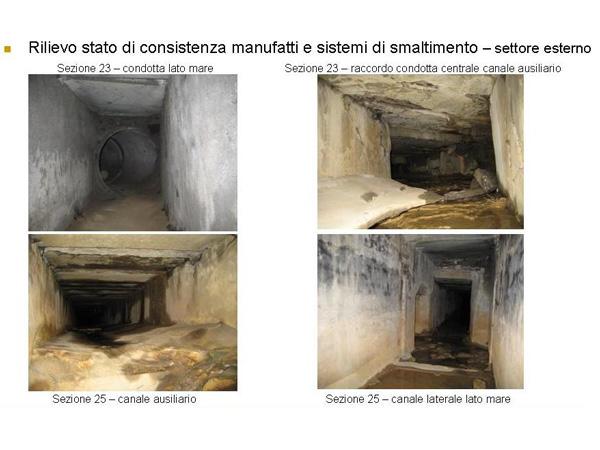 Sistema di smaltimento delle venute idriche