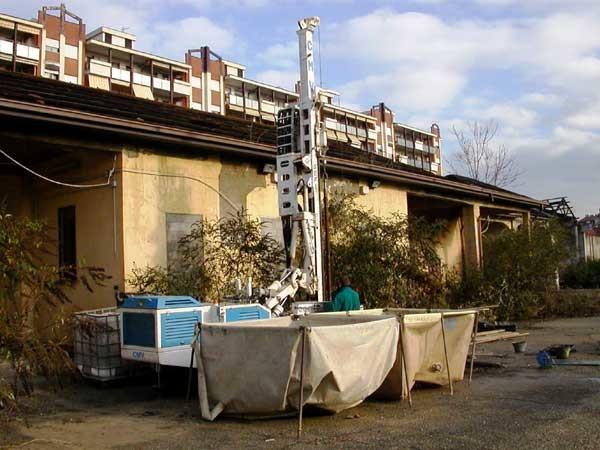 Indagini geologiche per edilizia residenziale comunale