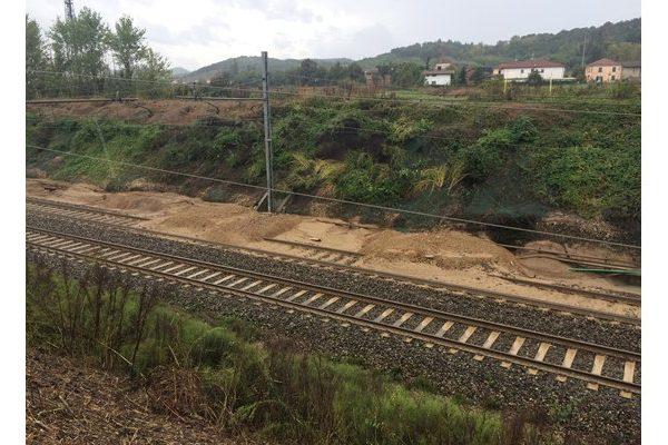Sicurezza idraulica della linea ferroviaria Alessandria-Genova
