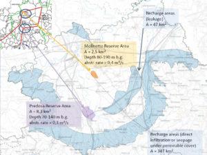 Aggiornamento delle aree di ricarica dell'acquifero profondo nel bacino alessandrino